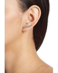 A.V. Max - Falling Star Climber Earrings - Lyst