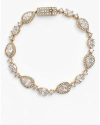 Nadri - Mixed Marquise & Oval Cz Bracelet - Lyst