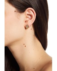 Vince Camuto - Multi-cut Crystal Stud Earrings - Lyst