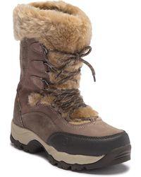 Hi-Tec - St. Moritz 200 Ii Faux Fur Trim Boot - Lyst
