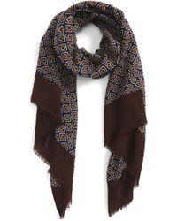 Calibrate - Floral Foulard Scarf - Lyst