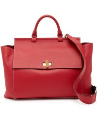 BOSS - Bespoke Soft Leather Satchel - Lyst