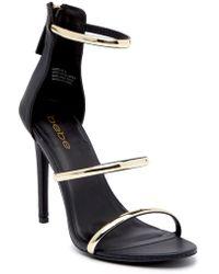 Bebe - Berdine Strappy Stiletto Sandal - Lyst