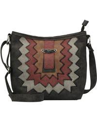 Kensie - Ridley Faux Leather Crossbody Bag - Lyst