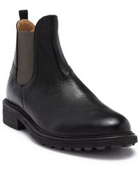 H by Hudson - Calson Leather Chelsea Boot - Lyst