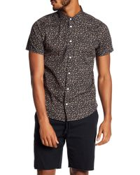 RVCA - Dresden Printed Slim Fit Shirt - Lyst