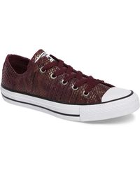 Converse - Chuck Taylor(r) All Star(r) Ox Leather Sneaker (women) - Lyst