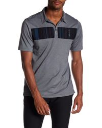Travis Mathew - Babs Panel Front Polo - Lyst