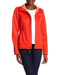 The North Face - Wakerly Fleece Full Zip Jacket - Lyst