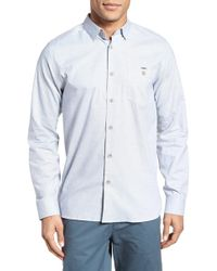 Ted Baker - Slim Fit Textured Sport Shirt - Lyst