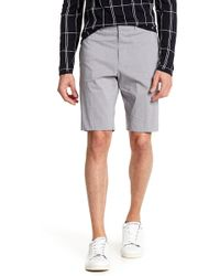 Theory - Beck Pinstripe Shorts - Lyst