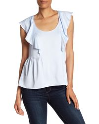 French Connection - Nia Draped Tank - Lyst