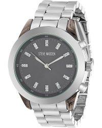 Steve Madden - Women's Alloy 42mm Watch - Lyst