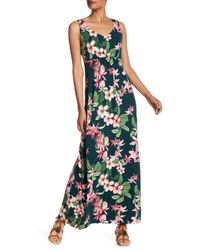 Tommy Bahama - Le Tigre Orchid Maxi Dress - Lyst
