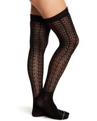 Yummie By Heather Thomson - Seastrand Over-the-knee Socks - Lyst