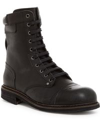 DIESEL - Cassidy Leather Boot - Lyst