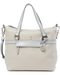 Lodis - In The Mix Miriam Rfid Leather Satchel Crossbody - Lyst
