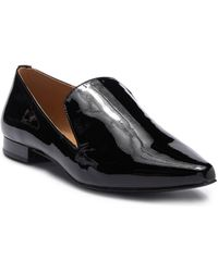 Calvin Klein - Elin Patent Leather Loafer - Lyst