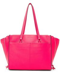 Vince Camuto - Aylif Leather Tote - Lyst