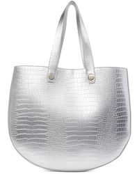 French Connection - Bobby Embossed Slim Tote Bag - Lyst