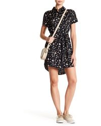 Billabong - Working It Shirt Dress - Lyst