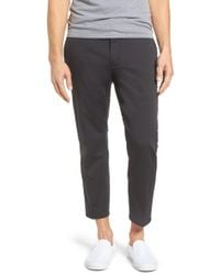 Hurley - Covert Slim Fit Crop Trousers - Lyst