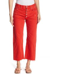 Free People - Rolling On The River Straight Jeans - Lyst