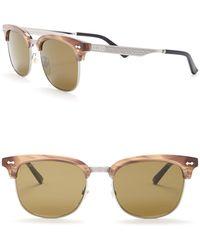 77ecc461e58 Lyst - Gucci Men s Clubmaster Acetate Frame Sunglasses for Men