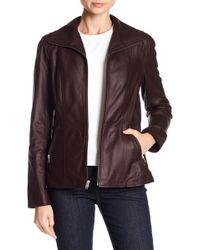 Andrew Marc - Fabian Front Zip Jacket - Lyst