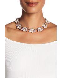 Jenny Packham - Crystal & Glass Necklace - Lyst