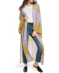 Free People | Midnight Reflection Duster | Lyst