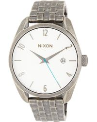 Nixon - Men's Bullet Bracelet Watch, 38mm - Lyst