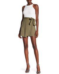 RACHEL Rachel Roy - Utility Wrap Skirt - Lyst