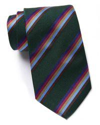 Thomas Pink - Renwick Stripe Silk Skinny Tie - Lyst