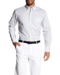 Peter Millar - Patterned Button-down Long Sleeve Shirt - Lyst