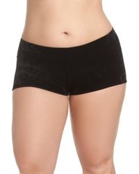 Only Hearts - Velvet Hipster Briefs (plus Size) - Lyst