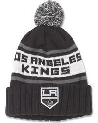 1afc95e9706 Lyst - Mitchell   Ness The Los Angeles Kings High 5 Beanie in Gray ...