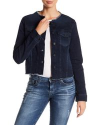 Big Star - Caroline Frayed Denim Jacket - Lyst