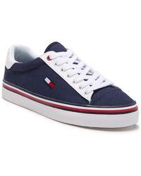 d13bfbe8 Tommy Hilfiger Lamzey Sneaker in White - Lyst
