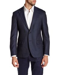 Spurr By Simon Spurr - Circle Dot Textured Wool Sportcoat - Lyst