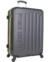 "Ben Sherman - 28"" Hardside Embossed Suitcase - Lyst"