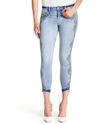 Jessica Simpson - Kiss Me Ankle Skinny Jeans - Lyst