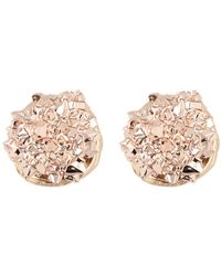 Panacea - Faux Druzy Stud Earrings - Lyst