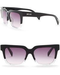 Just Cavalli - Square 53mm Plastic Sunglasses - Lyst