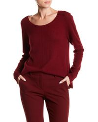 Spun By Subtle Luxury - Cashmere Basic Crew Neck Sweater - Lyst