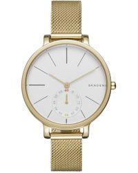 Skagen - Women's Hagen Mesh Strap Watch - Lyst
