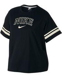 2fbb1a6d004 Nike Sportswear Nsw Women's Crewneck Crop Top - Lyst