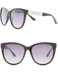 Guess | Women's Cat Eye Acetate Frame Sunglasses | Lyst