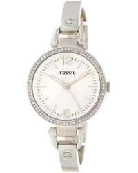 Fossil - Women's Georgia Bracelet Watch - Lyst
