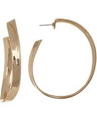 Robert Lee Morris - Organic Large 58mm Hoop Earrings - Lyst